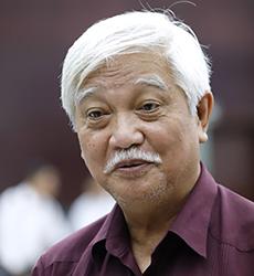 Nhà sử học Dương Trung Quốc. Ảnh: Nguyễn Đông.