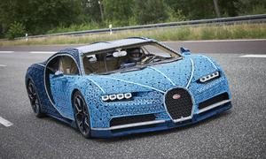 Siêu phẩm Bugatti Chiron ghép từ hơn một triệu miếng Lego, chạy như xe thật