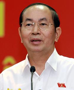 Chủ tịch nước Trần Đại Quang. Ảnh: Thiên Ngôn.