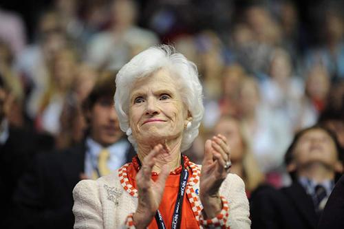 Bà Roberta McCain. Ảnh: AFP