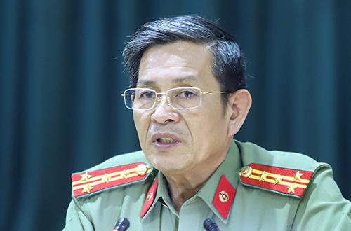 Đại tá Lê Văn Tam. Ảnh: Nguyễn Đông.
