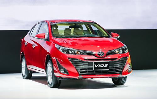 Toyota Vios bản nâng cấp ra mắt tại Việt Nam. Ảnh: Ngọc Tuấn.