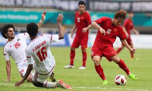 Các bàn thắng và loạt sút luân lưu trận Việt Nam - UAE