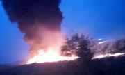 Máy bay Nga bốc cháy sau khi hạ cánh, 18 người bị thương