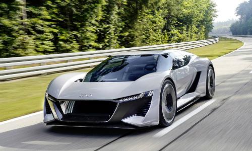 Siêu xe concept chạy điện mới PB 18 E-Tron. Ảnh: Audi.
