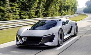 Audi PB18 E-Tron - siêu xe điện của tương lai