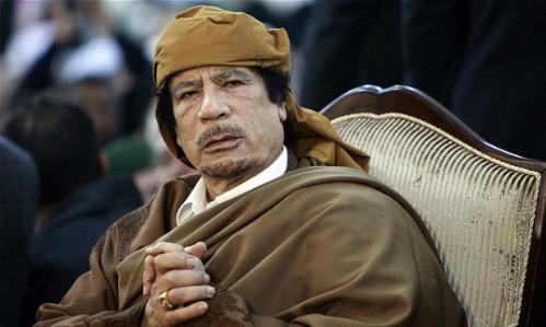 Muammar Gaddafi, lãnh đạo Libya năm 1969-2011. Ảnh:Reuters.