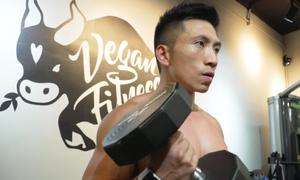 Huấn luyện viên thể hình ăn chay ở Hong Kong