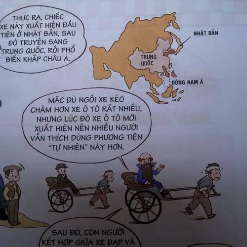 Trang sách in bản đồ đường lưỡi bò phi pháp của Trung Quốc. Ảnh: VT.