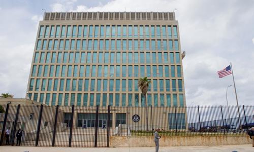 Đại sứ quán Mỹ tại thủ đô Havana, Cuba. Ảnh: Bộ Ngoại giao Mỹ.