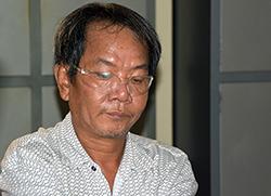 Huỳnh Trương Cabị bắt giữ khi trên đường đến TP HCM để kích động gây rối. Ảnh: Thanh Phong
