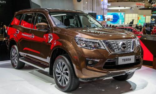 Nissan Terra tại triển lãm ôtô quốc tế Gaikindo Indonesia, tháng 8/2018. Ảnh: Paultan.