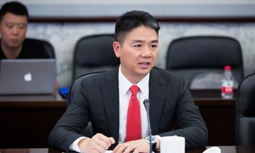 Tỷ phú Trung Quốc Lưu Cường Đông với khối tàn sản ước tính 7,9 tỷ USD. Ảnh: Weibo.
