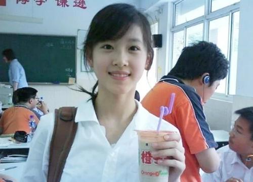 Bức ảnh khiến Chương Trạch Tiên trở thành hiện tượng mạng năm 2009. Ảnh: Weibo.