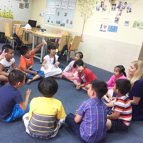 5-11 tuổi là giai đoạn vàng để trẻ học tiếng Anh.