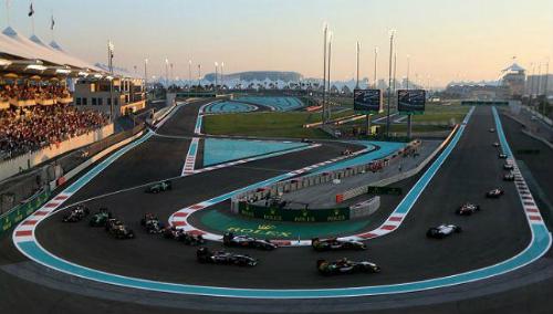 Đường đua Yas Marina ở đảo Yas, UAE. Ảnh:baws.ae.