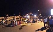 9 người bị bắt vì gây rối khi chặn quốc lộ phản đối nhà máy rác