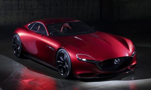 Mazda RX-Vission từng xuất hiện tại triển lãmTokyo Motorshow.
