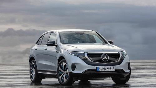 EQC 400 là ôtô điện đầu tiên của Mercedes.