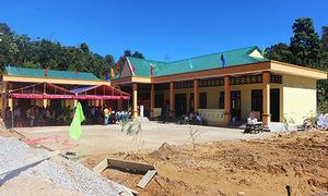 Quỹ Hy vọng khánh thành trường Khe Chữ