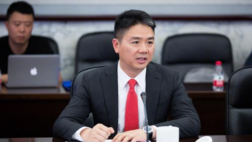 Tỷ phú Trung Quốc Lưu Cường Đông. Ảnh: Weibo.