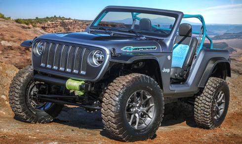 Jeep 4Speed giới thiệu tới công chúng hồi tháng 3 vừa quatại Mỹ.