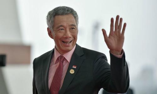 Thủ tướng Singapore Lý Hiển Long dự một hội nghị ở Trung Quốc tháng 9/2016. Ảnh: Reuters.