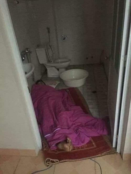 Phòng ngủ cho những ông chồng bợm nhậu.