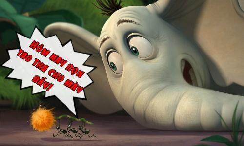 Kiến tha cho voi vì muốn công bằng