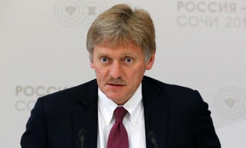 Người phát ngôn Điện Kremlin Dmitry Peskov. Ảnh: AFP.