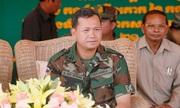 Con trai Hun Sen trở thành tư lệnh lục quân Campuchia