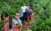 Huyện biên giới Thanh Hóa thiếu lương thực do lũ cô lập
