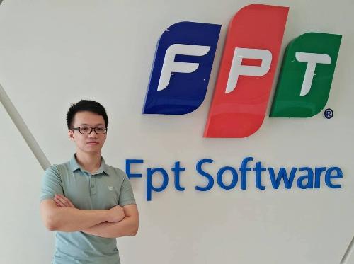 Trần Thanh Hà từ bỏ 4 năm học bác sĩđa khoa để theo đuổi đam mê làm công nghệ thông tin. Ảnh: NVCC.