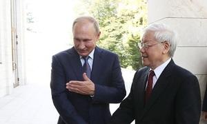 Putin: Việt Nam là đối tác quan trọng hàng đầu ở châu Á - Thái Bình Dương