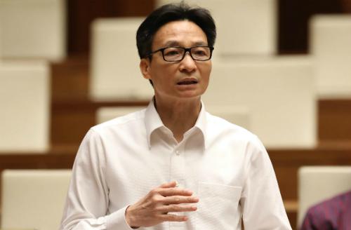 Phó Thủ tướng Vũ Đức Đam. Ảnh: Hoàng Phong.