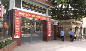 Hiệu trưởng tiểu học Sơn Đồng chưa trả lời về nghi vấn lạm thu