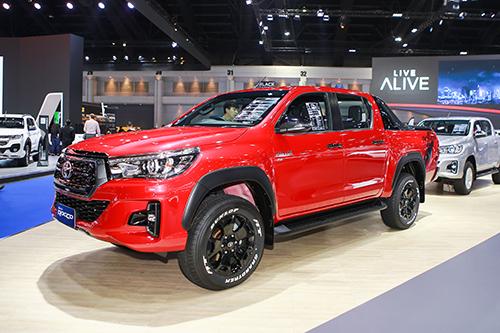 Toyota Hilux phiên bản đời 2018 tại triển lãm