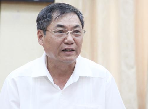 Nguyên Phó bí thư Thành uỷ Hà Nội Nguyễn Công Soái kể lại quá trình sắp xếp bộ máy Hà Nội mở rộng. Ảnh: Võ Hải.