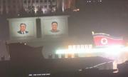 Lính Triều Tiên luyện tập xuyên đêm cho lễ duyệt binh ngày quốc khánh