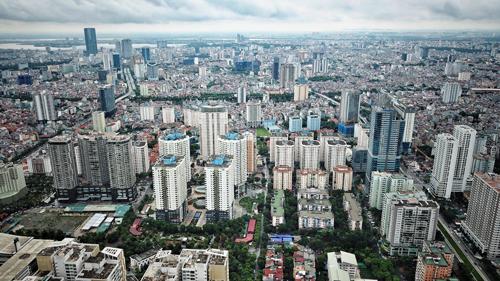 Một góc quận Nam Từ Liêm, Hà Nội. Ảnh: Giang Huy.