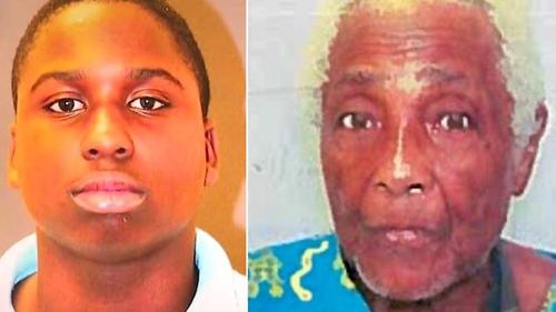 Nghi phạmTyrone Harvin (trái) và nạn nhânDorothy Mae Neal. Ảnh: Cảnh sátBaltimore.