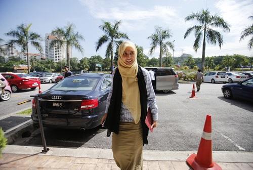 Phó chủ tịch đảng Công lý Nhân dân Malaysia Nurul Izzah Anwar. Ảnh: Reuters.