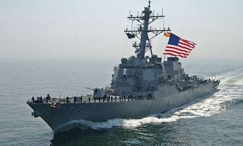 Một tàu khu trục của hải quân Mỹ. Ảnh: US Navy.