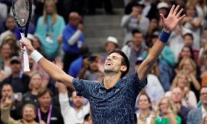 Del Potro 0-3 Novak Djokovic