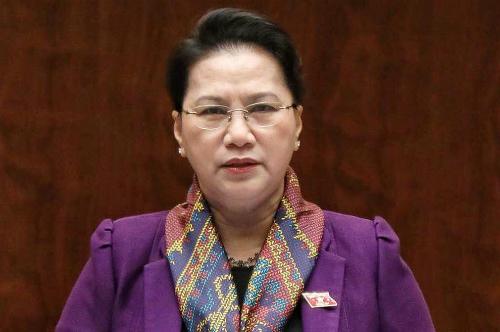 Bà Nguyễn Thị Kim Ngân. Ảnh: Hoàng Phong.