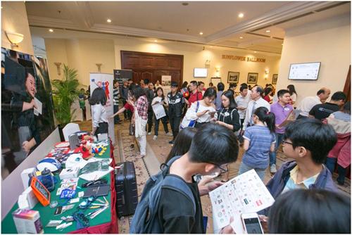 Nhiều suất học bổng lên đến 90% từ hơn 70 trường tham dự và quà tặng giá trị dành cho khách tham dự.