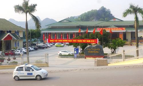 Trụ sở UBND TP Thanh Hoá. Ảnh: Lam Sơn.