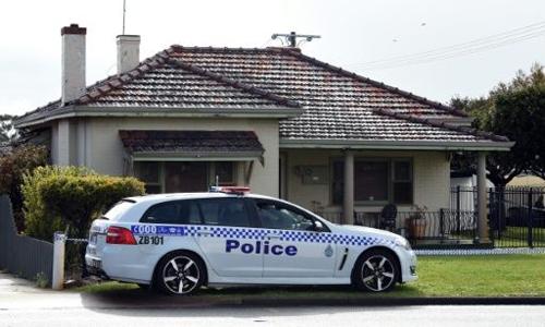 Ngôi nhà tại thành phố Perth, Australia, nơi diễn ra vụ án mạng khiến 5 người trong gia đình thiệt mạng. Ảnh: AFP.