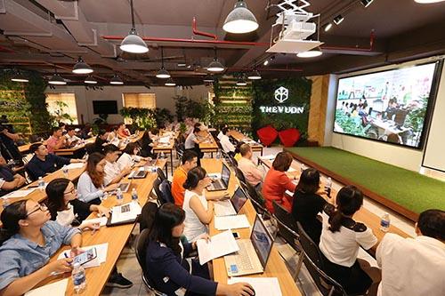 Nhiều startup quan tâm đến giải pháp thu hút vốn đầu tư. Ảnh: Anh Tuấn.