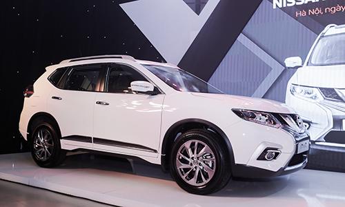 Nissan X-Trail V-Series ra mắt tại Hà Nội.